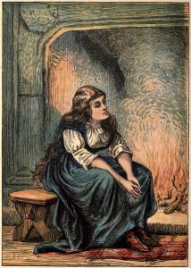 Cinderella (public domain image)