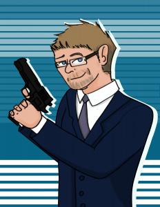 8_5 Dirk Greyson Caricature